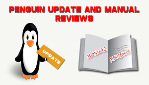 Penguin update and Manual reviews