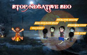 Negative SEO competitor attack
